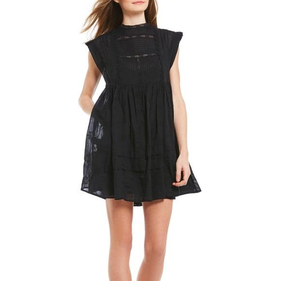e89e3c876623 Free People Dresses | Nobody Like You Embroidered Mini Dress | Poshmark